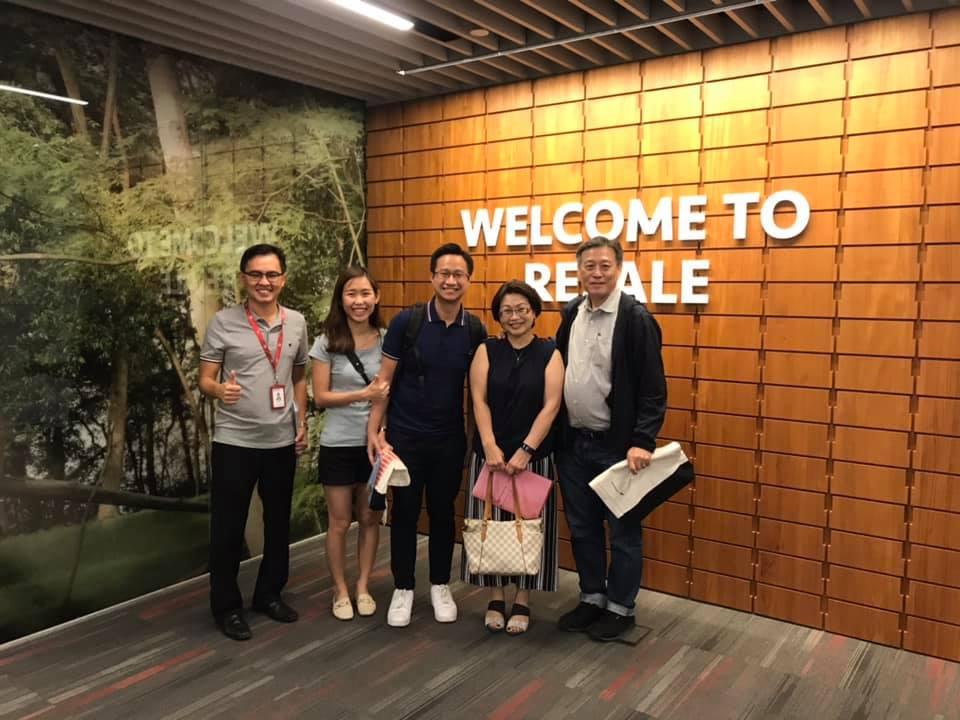 Mrs Chong & family